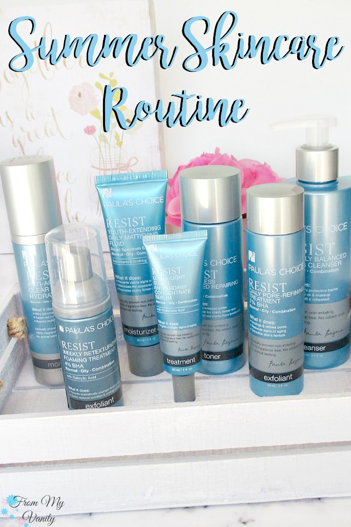 Paula's Choice is the way to go as you refresh your summer skincare routine! This RESIST line looks fabulous!