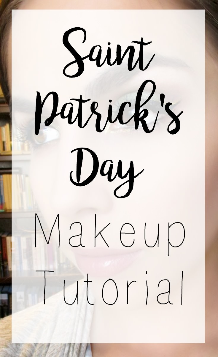 St Patrick's Day is just around the corner and in the spirit of the holiday here's an eye look that incorporates both green and gold!
