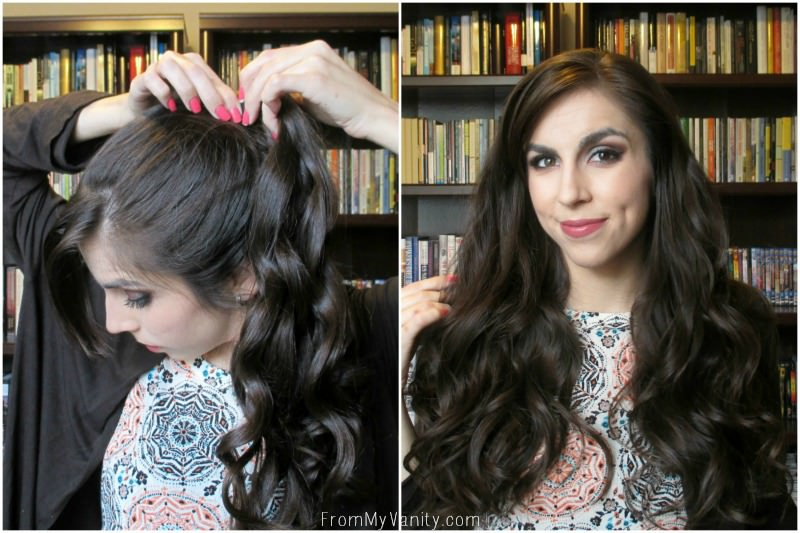 Easy Hack for 5 Minute Curls | Steps 7 & 8 | FromMyVanity.com