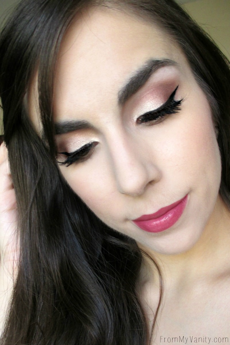 Easy prom makeup tutorial giveaway from my vanity easy romantic prom makeup tutorial a spring inspired opal shimmery lid baditri Image collections