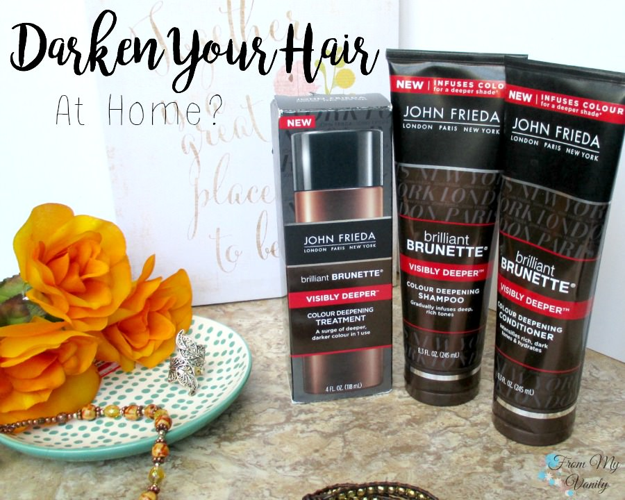 I'm bringing the salon to my shower with John Frieda's new products!