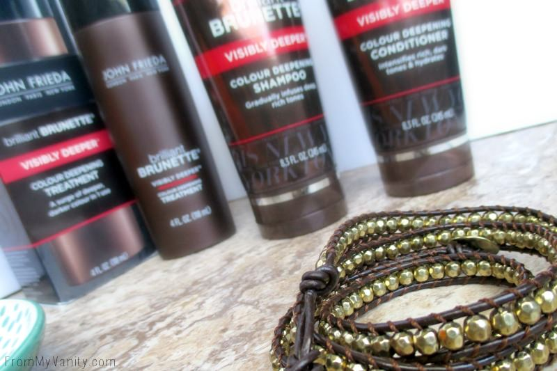 Love this bracelet from Premier Jewelry...it goes with my Brilliant Brunette® Visibly Deeper™ Colour Deepening products!