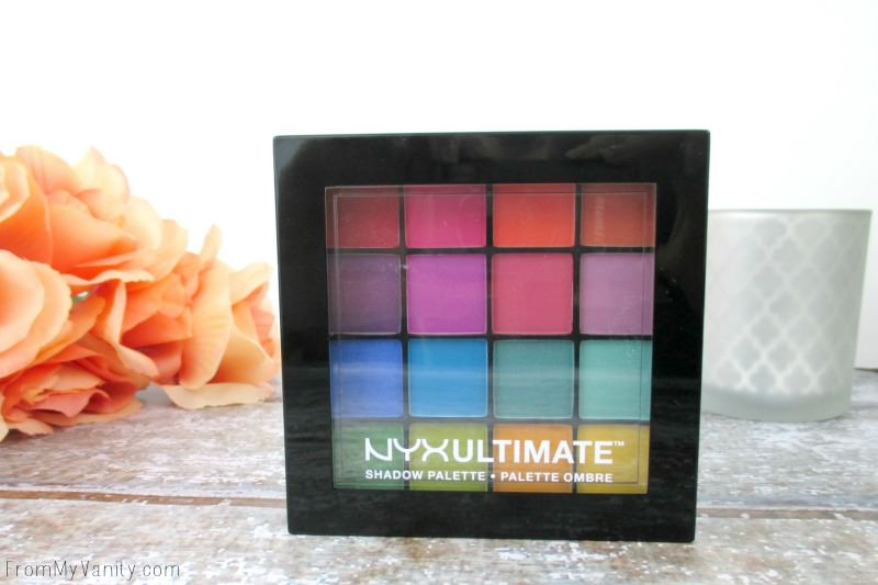 NYX Cosmetics Brights Ultimate Shadow Palette