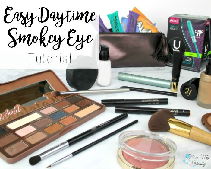Easy Daytime Smokey Eye Tutorial | FromMyVanity.com