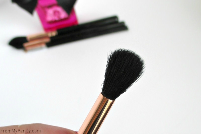 Closeup of Sigma Beauty's Tapered Blending E40 Brush