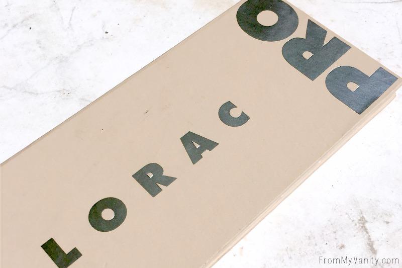 The New LORAC PRO 3 Palette
