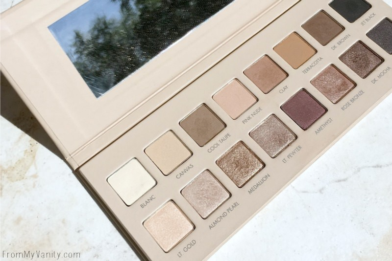Peak at the shades in the LORAC PRO 3 Palette!