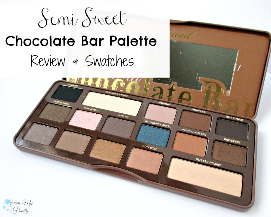 Love the Too Faced Semi Sweet palette!