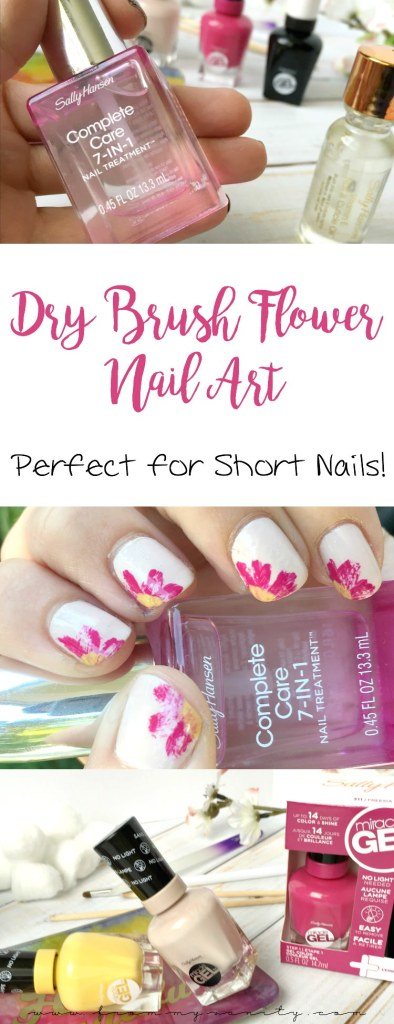 Gotta try this quick and easy nail art tutorial soon! It's a neat twist on using dry brushing! #SallyStrong