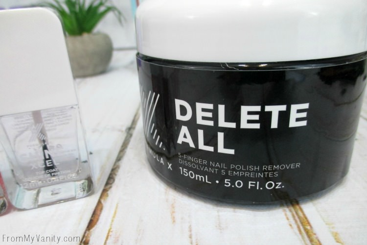 Delete your manicure in less than a minute!