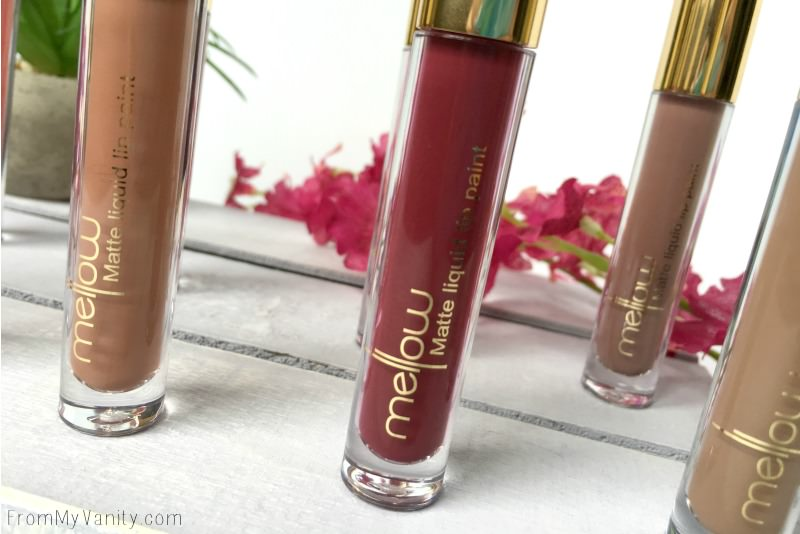 Mellow Cosmetics liquid lipsticks are so pretty!