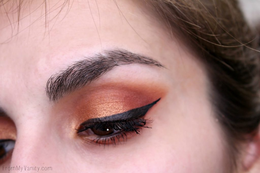Eye Look using the Makeup Geek Autumn Glow Eyeshadow palette