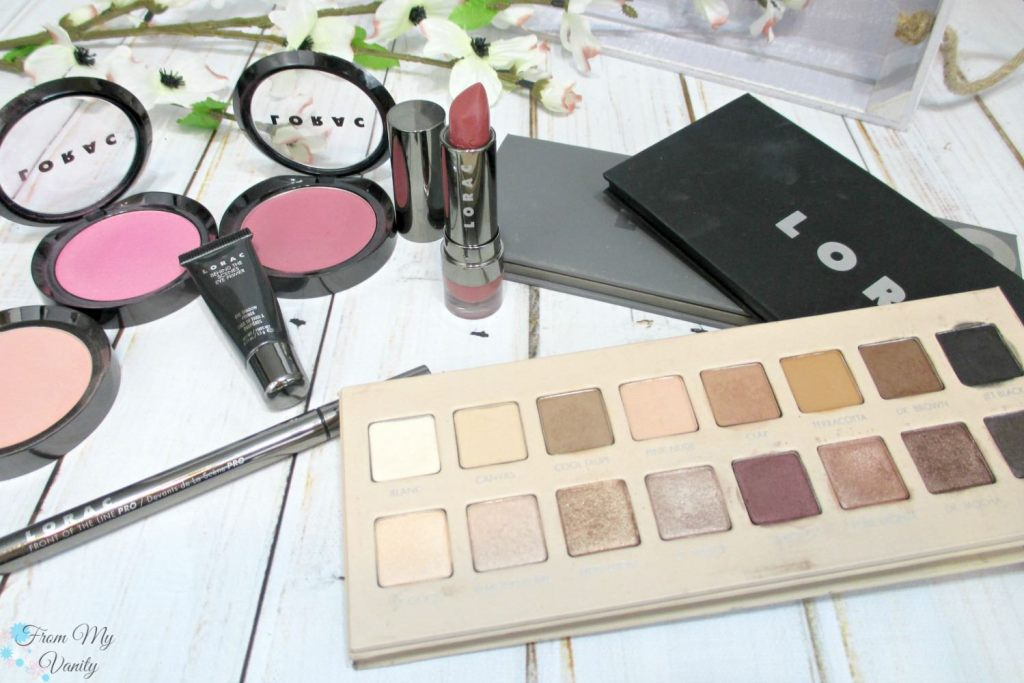 The top 5 products from LORAC that I can't live without!