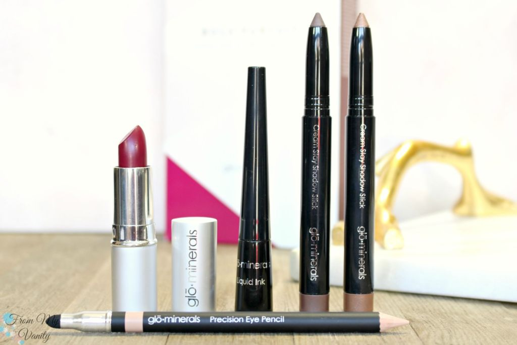 Glo Minerals Bold Pursuit Collection - Holiday Makeup Set