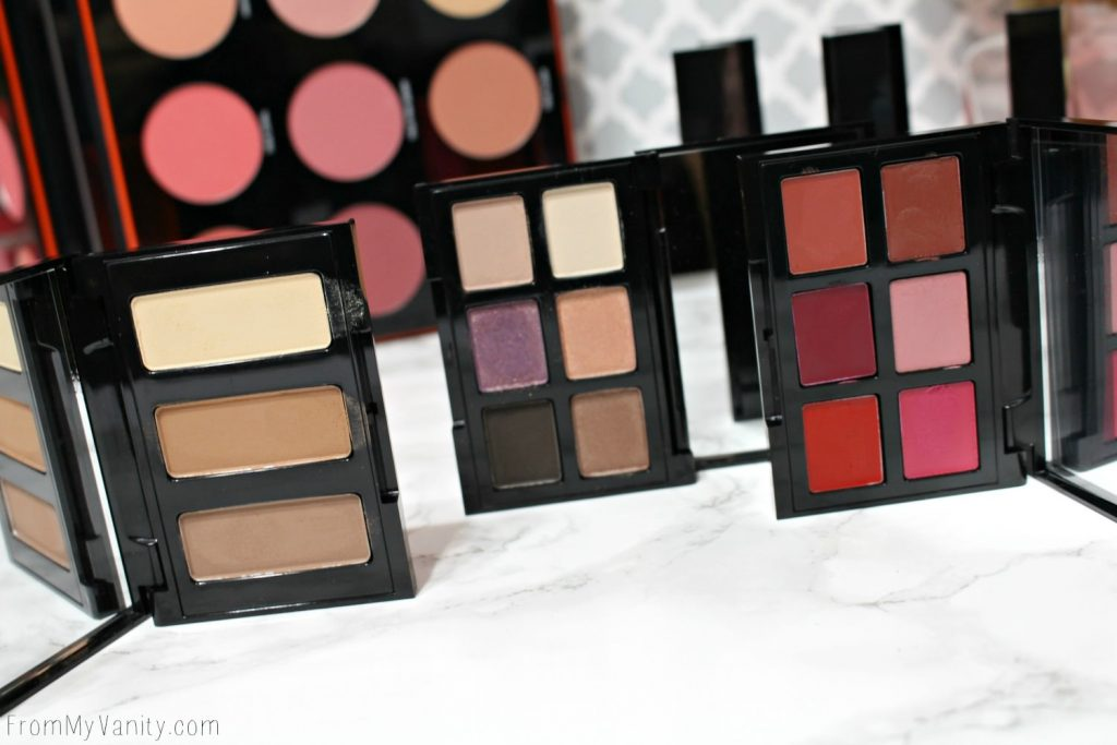 Smashbox Light It Up: 3 Mini Palettes: Eyes, Contour, Lips