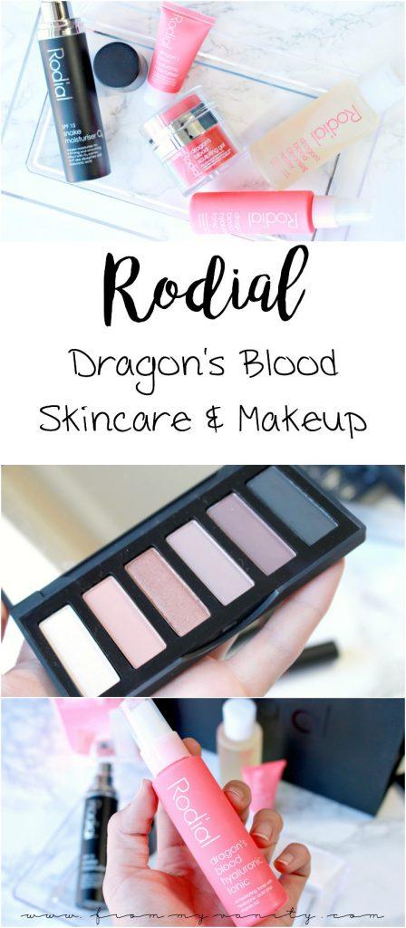 Rodial Skincare & Makeup | Dragon's Blood | Snake Moisturiser | Eyeshadow | Lip Jumbo Pencils
