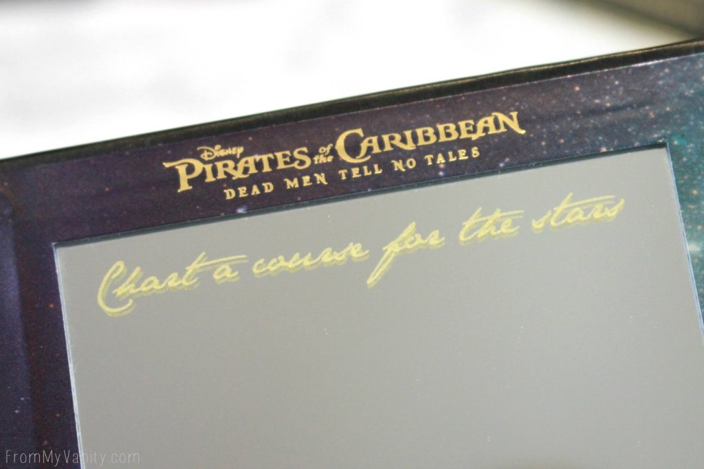 """LORAC + Pirates of the Caribbean Collection   Review, Swatches, and Demo   Dead Men Tell No Tales   """"Chart a Course for the Stars"""""""