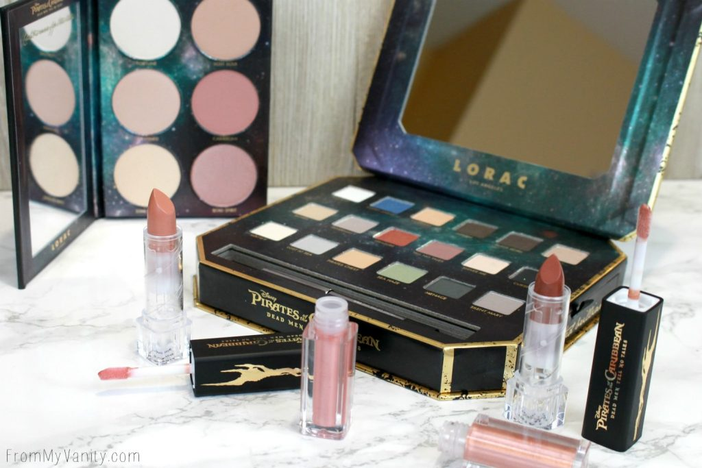 LORAC + Pirates of the Caribbean Collection | Review, Swatches, and Demo