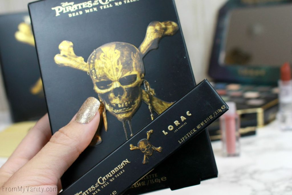 LORAC + Pirates of the Caribbean Collection   Review, Swatches, and Demo   Addicted to Pretty Packaging!