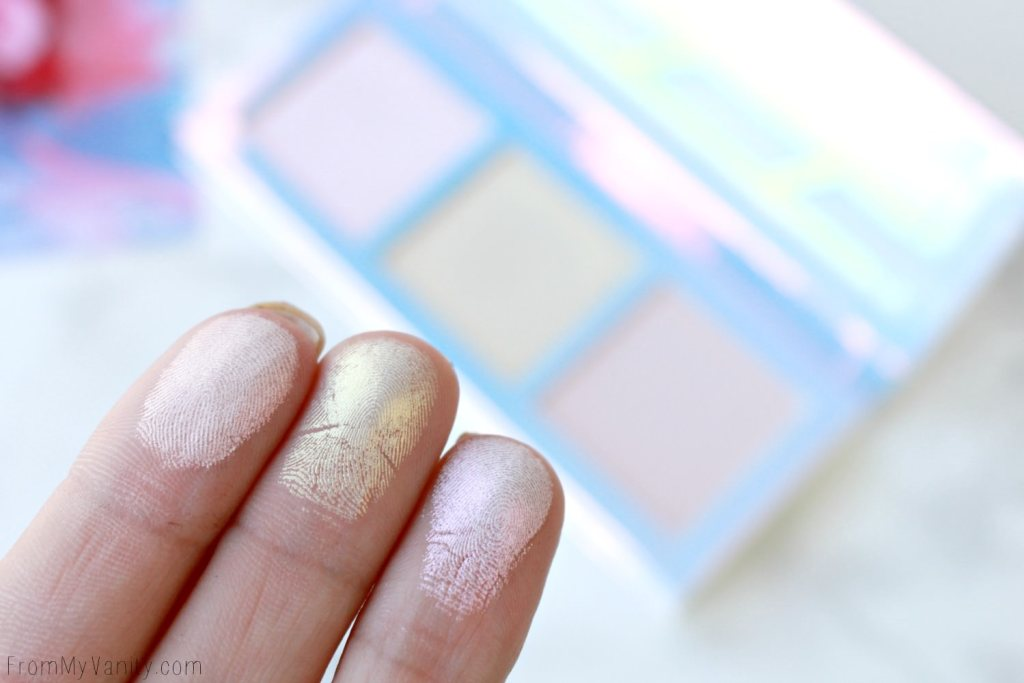 Lime Crime Hi-Lite Opals Palette | Review & Swatches | Finger Swatches