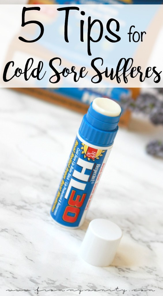 5 Tips for Dealing with Cold Sores | Herpecin Lip Balm | 5 Hacks for Cold Sore Sufferers, from a Cold Sore Veteran | Tips & Tricks | #AD #Herpecin #PowerPrimper #BeautyJewel