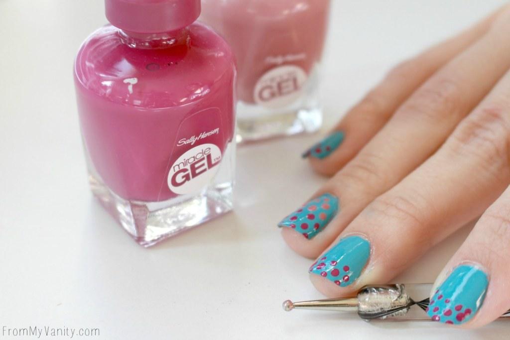 Easy Dotticure Nail Art | Tutorial | Step 5