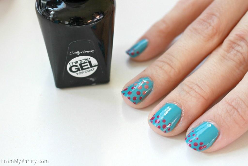 Easy Dotticure Nail Art | Tutorial | Step 6