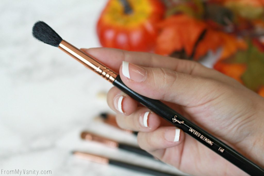 Sigma Beauty Ultimate Copper Eye Brush Set | Review | E40 Tapered Blending Brush