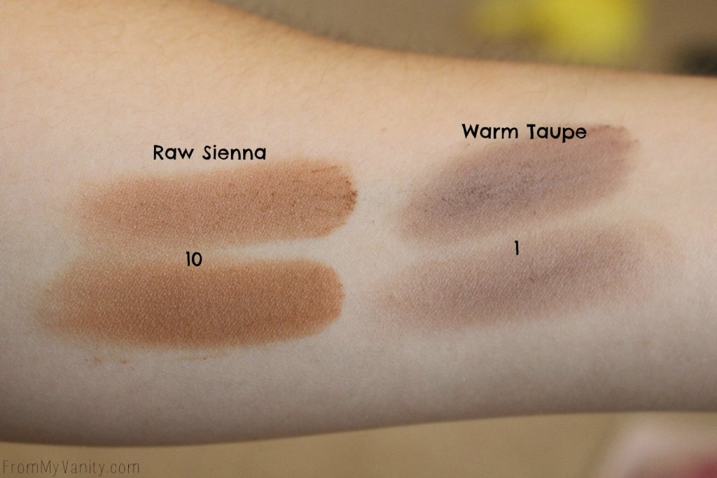 Dupe or Dud | ABH Modern Renaissance vs Wet n Wild Rosé in the Air Palette | Swatch Comparison, Third Row