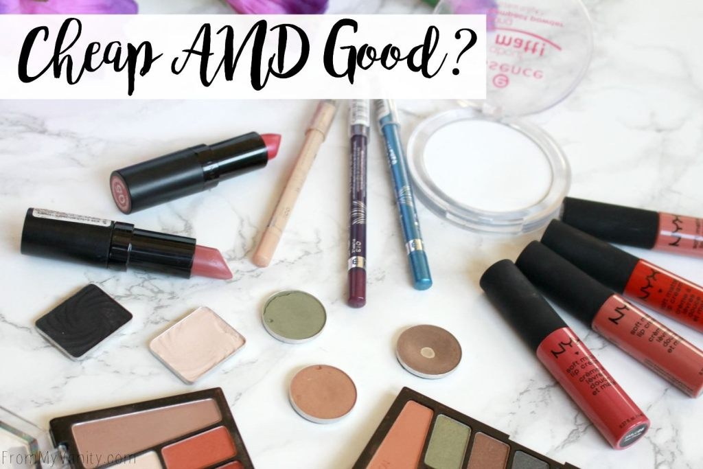 Top 5 Under $5   Affordable Makeup I Recommend   Collab with Everyday Heidi