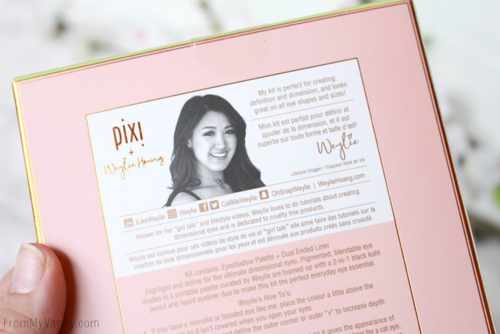 Pixi and Weylie Hoang Dimensional Eye Creator Kit   Youtuber Collaboration