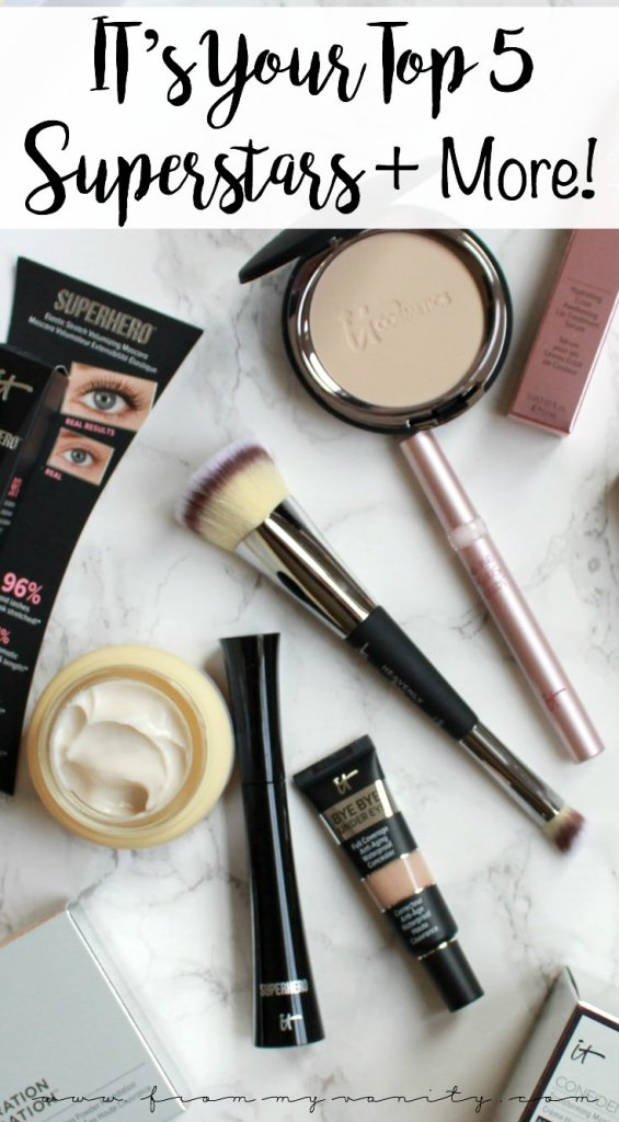 IT Cosmetics' QVC Today's Special Value | IT's Your Top 5 Superstars & More! Value Set | November IT Cosmetics QVC TSV