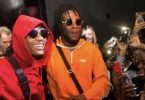Burna Boy And Wizkid On Set For New Video Shoot In Lagos