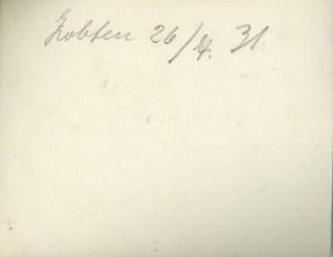26 7 1931 reverse