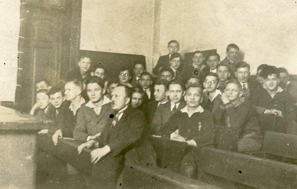 Beuthen grammar school, February 1927