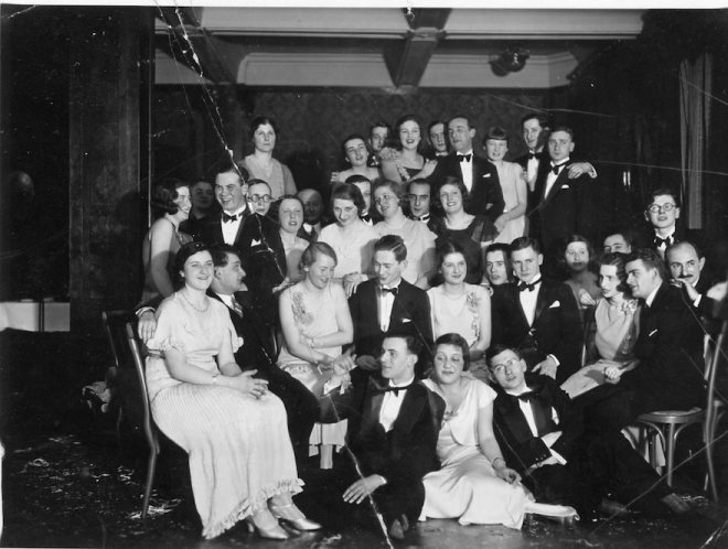 College party early 1930s