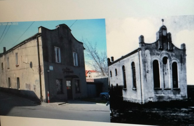 Mysłowice synagogue (one): now and then