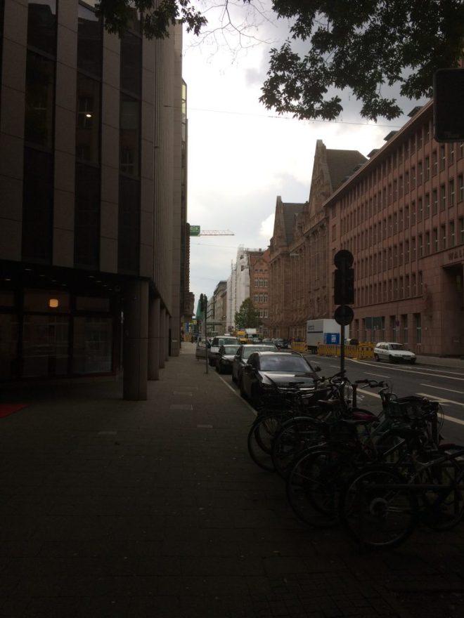 Kaserenstraße, Düsseldorf, 2017