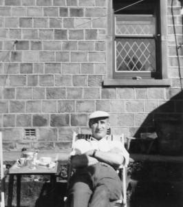 Werner Resting after gardening