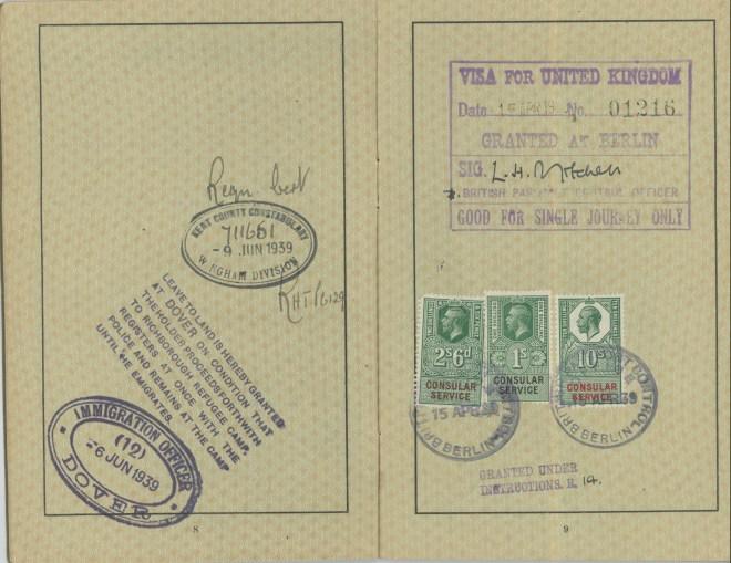 Reichpass 1939