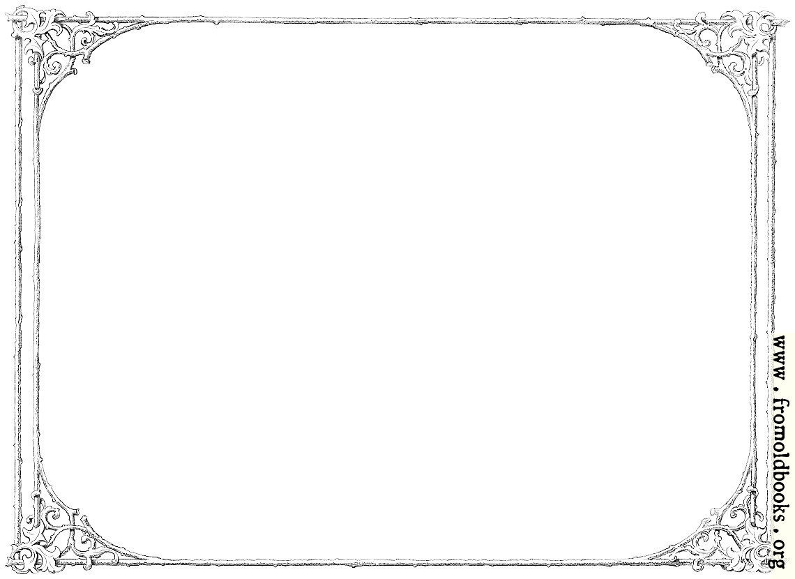 Free Clip Art Victorian Border Of Twigs And Leaves