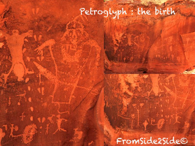 Petroglyph à Moab