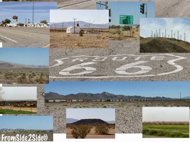 Bouts de Route 66 en Californie