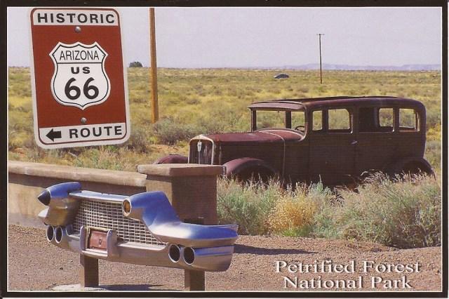 Route 66 Petrified Forest National Park Arizona