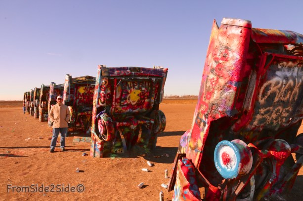 Cadillac ranch 17
