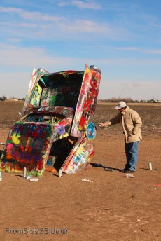 Cadillac ranch 8