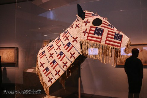 Masque de cheval : 1900 Lakota (Teton Sioux)