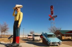 fake cadillac ranch 5