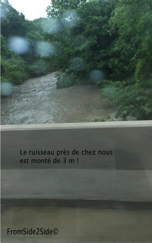 Inondations près de chez nous
