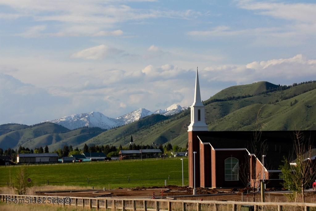 Eglise du Wyoming